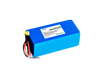 Kinstar LiFePO4 26650 38.4V 9.6Ah 12S3P Rechargeable Battery with BMS & XT60