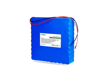 Kinstar LiFePO4 18650 48V 9Ah 15S6P Rechargeable Battery with BMS & Bare Leads
