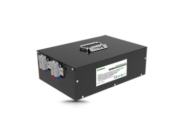 Kinstar LiFePO4 51.2V 20Ah 16S13P Rechargeable Battery with BMS & Anderson in Metal Case