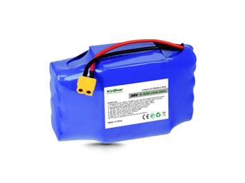Kinstar Li-ion 18650 36V 4400mAh Battery Pack 10S2P with BMS for Hoverboard & E-scooter