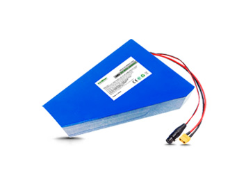Kinstar Li-ion 18650 M26 Cells 13S8P 48V 20.8Ah Polygon Battery with BMS for eBikes & Pedelecs