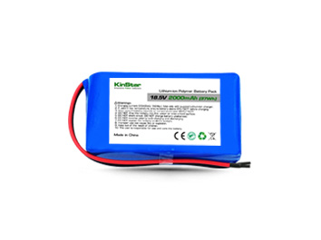 Kinstar LiPo 504872 5S1P 18.5V 2000mAh Lithium Polymer Battery Pack with PCB and Bare Leads